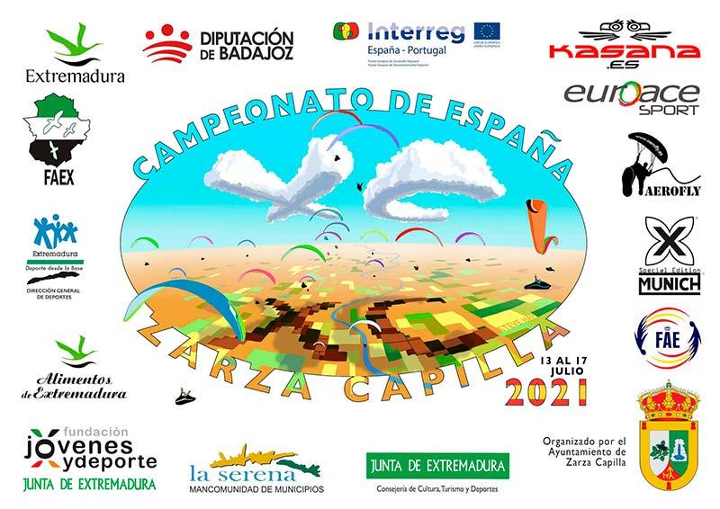 Campeonato de España XC en Zarza Capilla del 13 al 17 de julio 2021