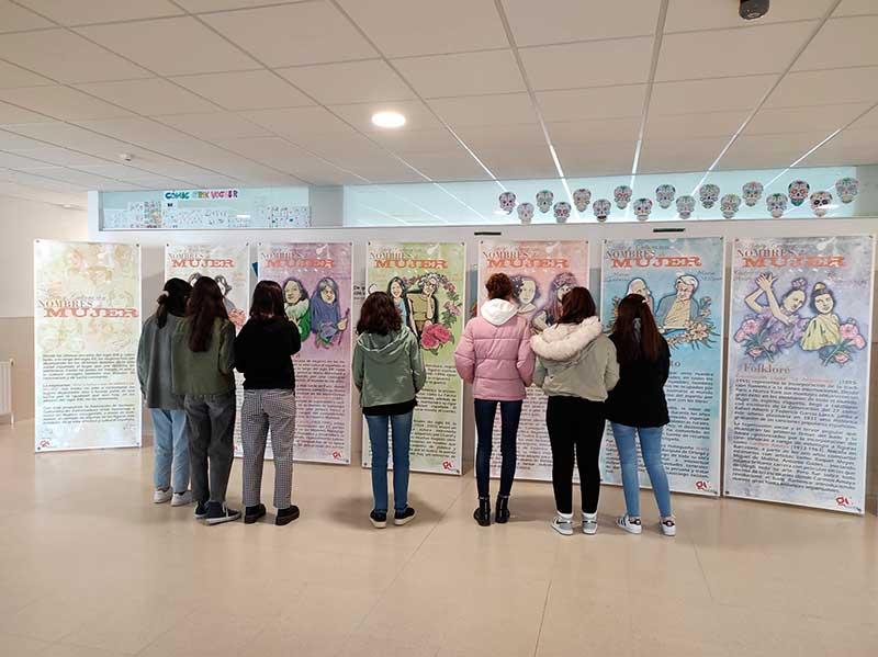 Exposición Arte y Cultura con nombre de Mujer en Quintana de la Serena