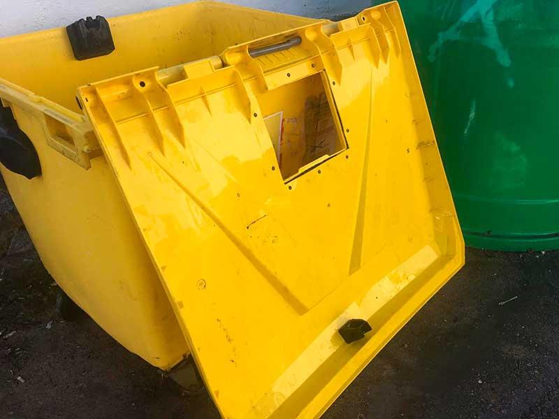 Servicio extraordinario de lavado de contenedores de envases ligeros (amarillos) Mancomunidad de la Serena