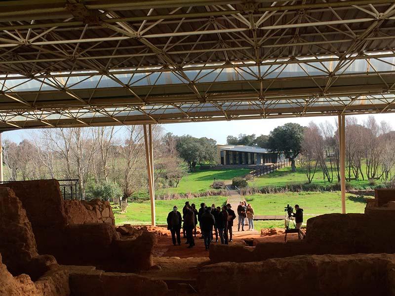 Obras de mejora de las instalaciones del Centro de Interpretación de Cancho Roano
