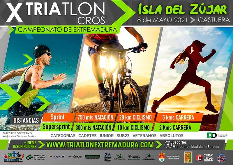 Triatlón Cros Isla del Zújar – Campeonato de Extremadura