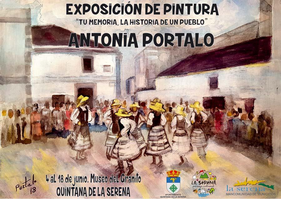 PROGRAMA DOBLE CON ANTONIA PORTALO